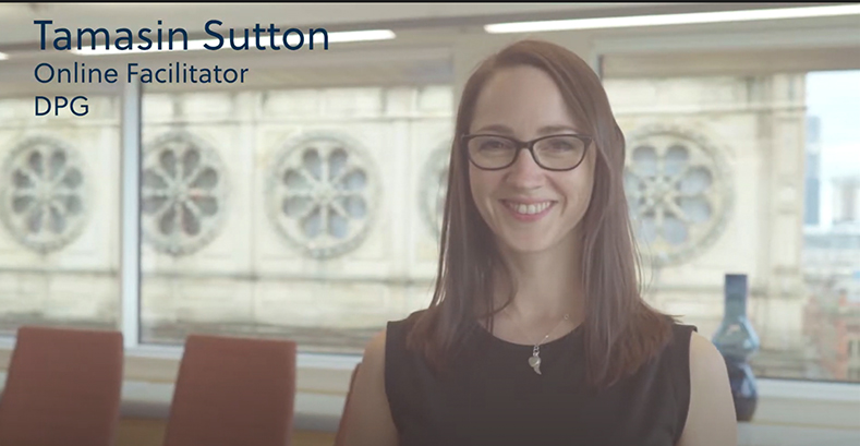 Tamasin Sutton DPG Facilitator Video