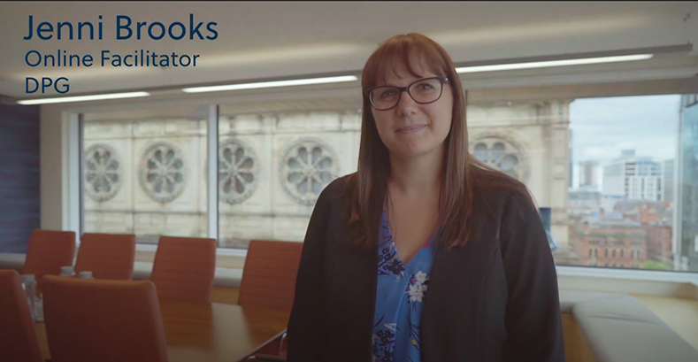Jenni Brooks DPG Facilitator Video